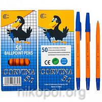 Ручка шариковая CORVINA 51 синяя, фото 1
