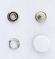 Кнопки пуговицы 15 мм белого цвета