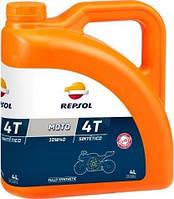 Моторное масло Repsol Moto Sintetico 4T 10W40 (4л)