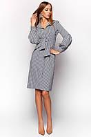 Женское платье-рубашка Нари черный Jadone 42-48 размеры