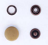 Кнопки пуговицы 15 мм бронзового цвета