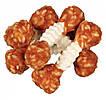 Гантельки кальциевые с курицей и рисом для собак 8 см 6 шт 100 гр