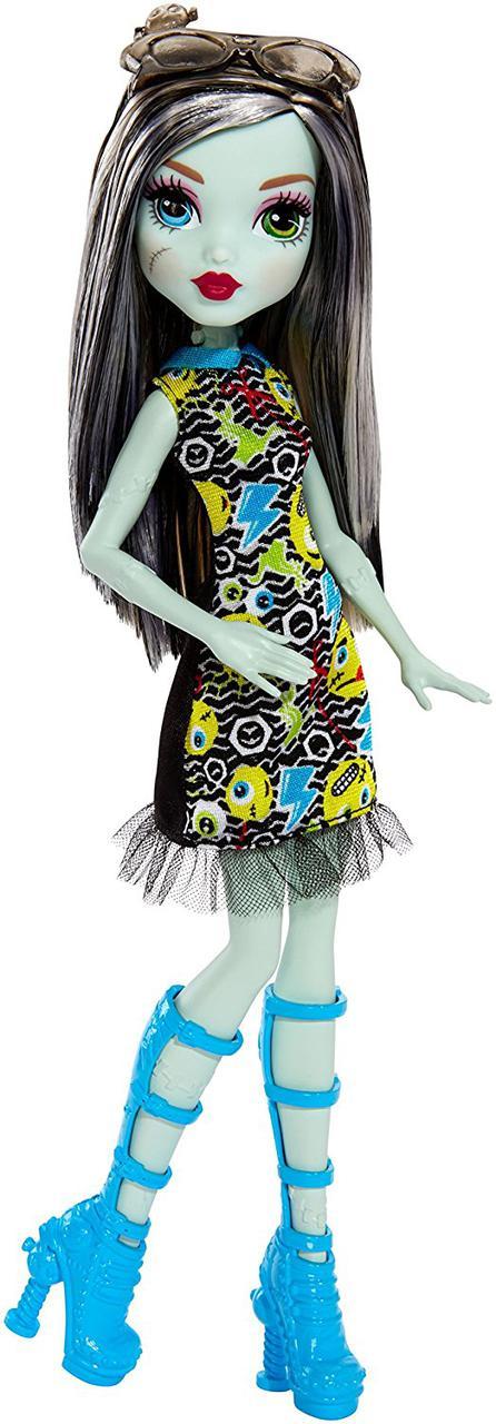 Кукла Монстер Хай Франки Штейн серия Эмоджи Monster High Frankie Stein Emoji Doll