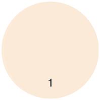 Компактная крем-пудра P-5 тон 1