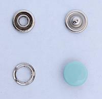 Кнопки пуговицы 10 мм голубого цвета