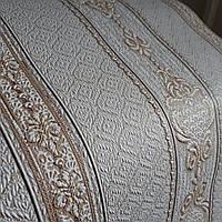 Обои Дамаск 2 3583-12 виниловые на флизелине,длина 15 м,ширина 1.06 =5 полос по 3 м каждая, фото 1