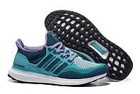 Кроссовки Adidas Ultra Boost Green Purple, фото 1
