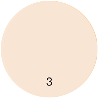 Компактная крем-пудра P-5 тон 3