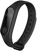 Умный фитнес-браслет M2 Black Шагомер,Подсчет калорий,Пульсометр,Уведомления о звонках и смс,Мониторинг сна