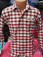Рубашка для мальчика 6-12 лет (кл 01)(пр. Турция)