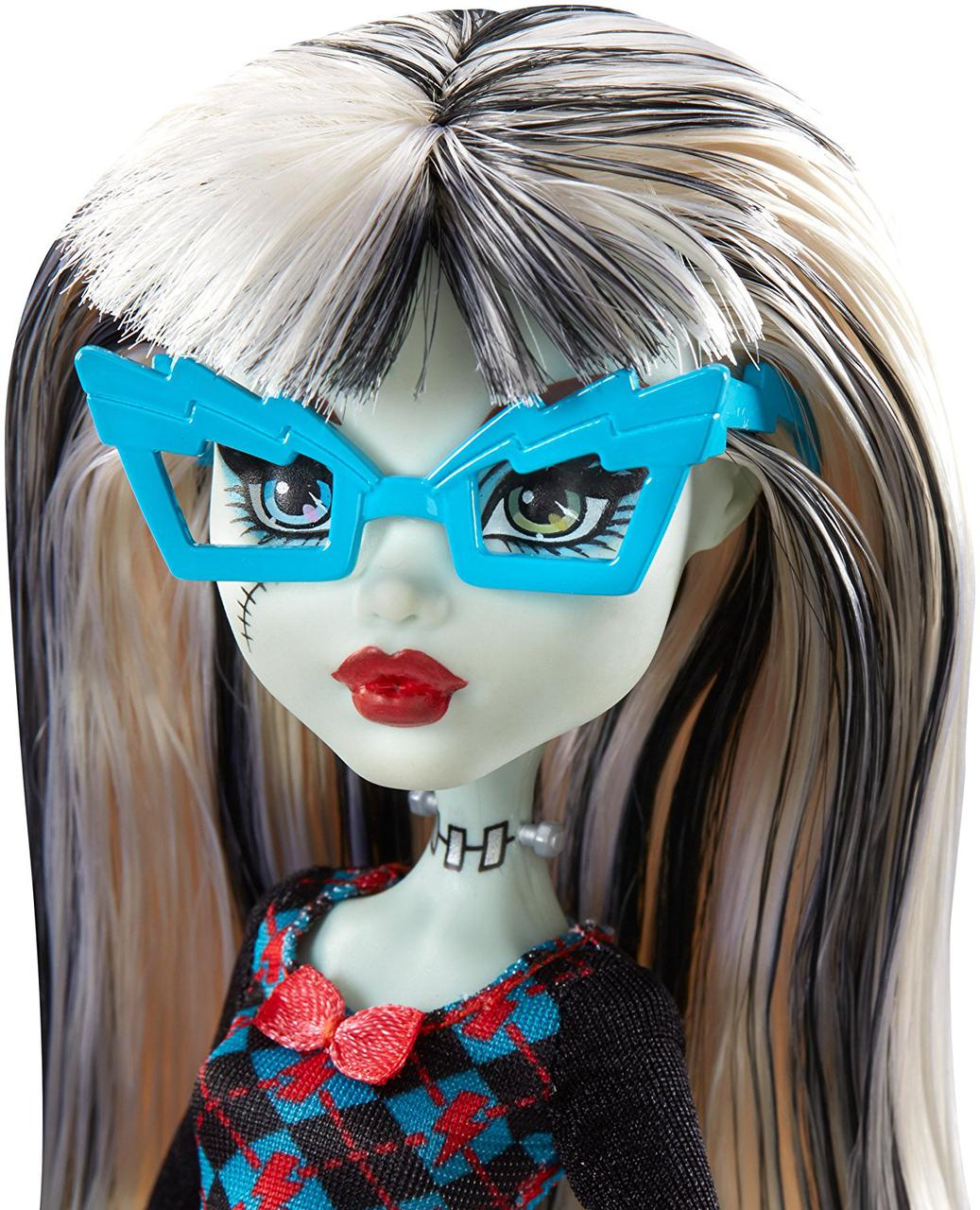 Френки Штейн серия Крик Гиков Гик Шрик Кукла Монстер Хай Monster High Geek Shriek Frankie Stein
