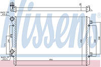 Радиатор двигателя VAG 2.0TSI NISSENS 65279A