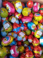 Шоколадные пасхальные яйца для детей 23 гр