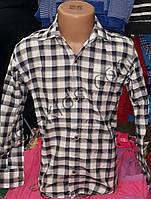 Рубашка для мальчика 6-12 лет (кл 02)(пр. Турция)