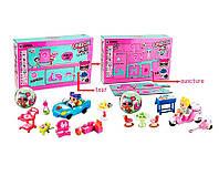 Большой игровой набор кукла LOL мебель машинка или мотоцикл, подарок для девочки