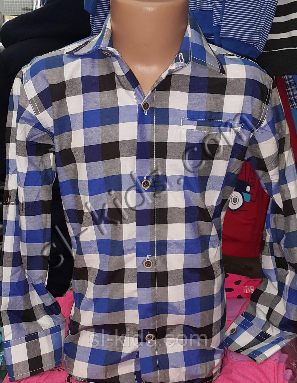 Рубашка для мальчика 6-12 лет (кл 05)(пр. Турция)