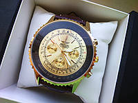 Наручные часы Breitling золотой 366