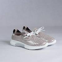 Кожаные мокасины (кроссовки) Maria Caruso