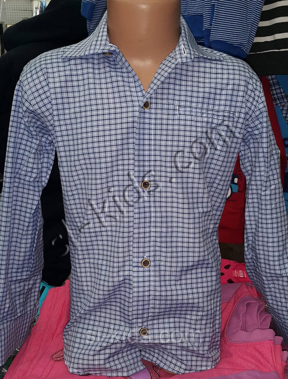 Рубашка для мальчика 6-12 лет (кл 07)(пр. Турция)