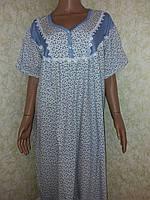 Ночная сорочка, хлопок, Турция, размер 52-54