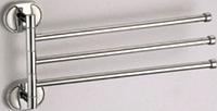 Держатель для полотенец тройной поворотный SOLONE Z3913