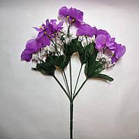 Искусственные цветы Букет Орхидей (12 шт)