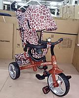 Детский трехколесный велосипед TILLY Zoo-Trike (колеса полиуритан)