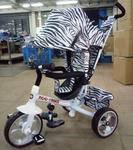 Детский трехколесный велосипед TILLY Zoo-Trike (белый)