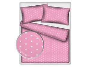 """Детская постель """"Розовые звездочки"""""""
