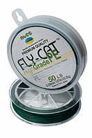 Шнур плетеный NTEC Fly-Cat Moss Green 137м, Ø0.20мм, 13.5кг