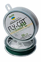 Шнур плетеный NTEC Fly-Cat Moss Green 137м, Ø0.18мм, 11.3кг