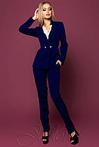 Женский классический костюм с пиджаком (Сонетjd), фото 3
