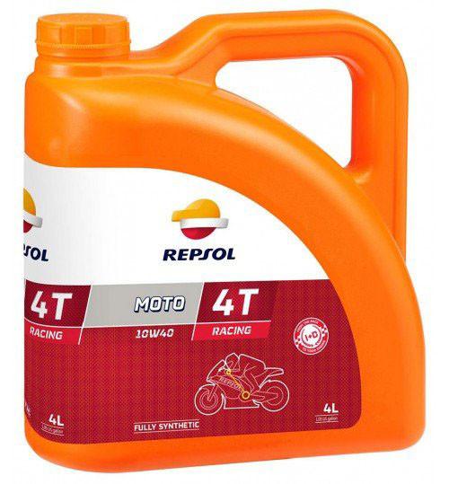 Моторное масло Repsol Moto Racing 4T 10W40 (4л)