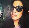 Солнцезащитные очки женские 2016 (черные), фото 5