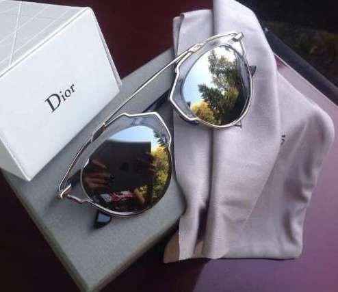 Очки Dior So Real (серебро)