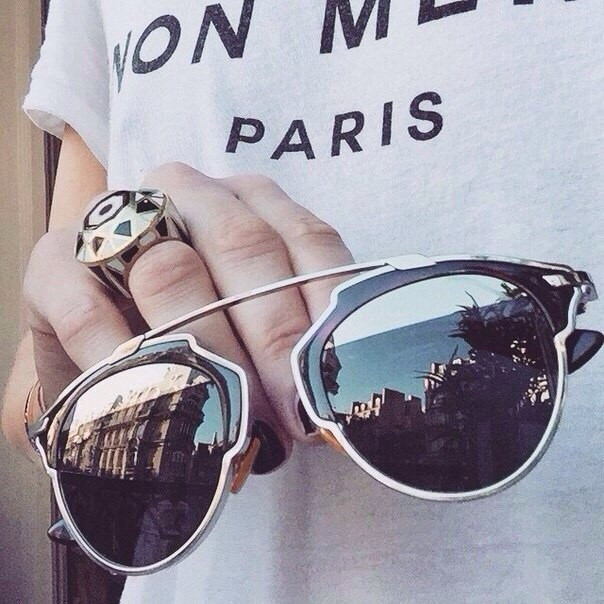 Очки Dior So Real (лео)