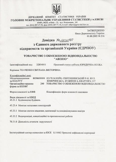 """Продам строительную компанию ООО """"Авеню"""" № 44"""