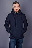Демисезонная куртка для мужчин. Цвет темно-синий.