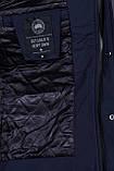 Чоловіча демісезонна куртка, темно-синього кольору, фото 6