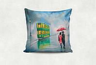 """Подарочная подушка """"Двое под зонтом"""""""