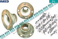 Фланец КПП крепления кардана ( механической коробки переключения передач ) 8857737 Iveco / ИВЕКО DAILY II 1989-1999 / ДЭЙЛИ Е2 89-99, Iveco / ИВЕКО