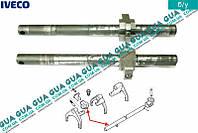 Ось / вал вилок переключения передач КПП 5-ти ступенчатой ( механической коробки переключения передач ) 8858510 Iveco / ИВЕКО DAILY II 1989-1999 /