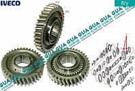 Шестерня ( зубчатое колесо ) 1 передача 37Z КПП 5-ти ступенчатой ( механической коробки переключения передач ) 8858642 Iveco / ИВЕКО DAILY II