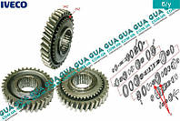 Шестерня ( зубчатое колесо ) задняя передача 34Z КПП 5-ти ступенчатой ( механической коробки переключения передач ) 8857897 Iveco / ИВЕКО DAILY II
