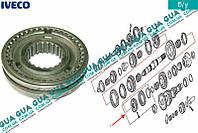 Муфта синхронизаторов в сборе 1 передача КПП 5-ти ступенчатой ( механической коробки переключения передач ) 8859595 Iveco / ИВЕКО DAILY II 1989-1999 /