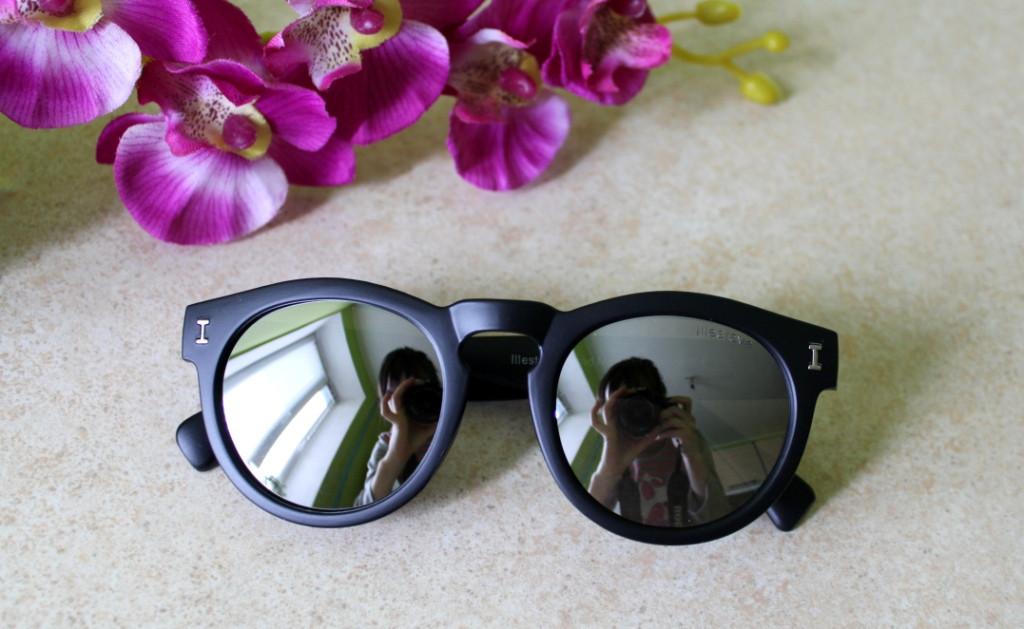 Очки солнцезащитные ILLESTEVA LEONARD    (черный+серебро)