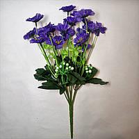 Искусственные цветы Букет Васильков