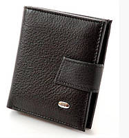 Женский кожаный компактный кошелек ST 430 Black
