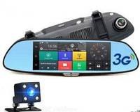 """Авторегистратор Регистратор D35  2 камеры (LCD 7"""", GPS)"""