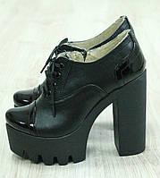 Кожаные черные туфли Giuseppe Zanotti  38